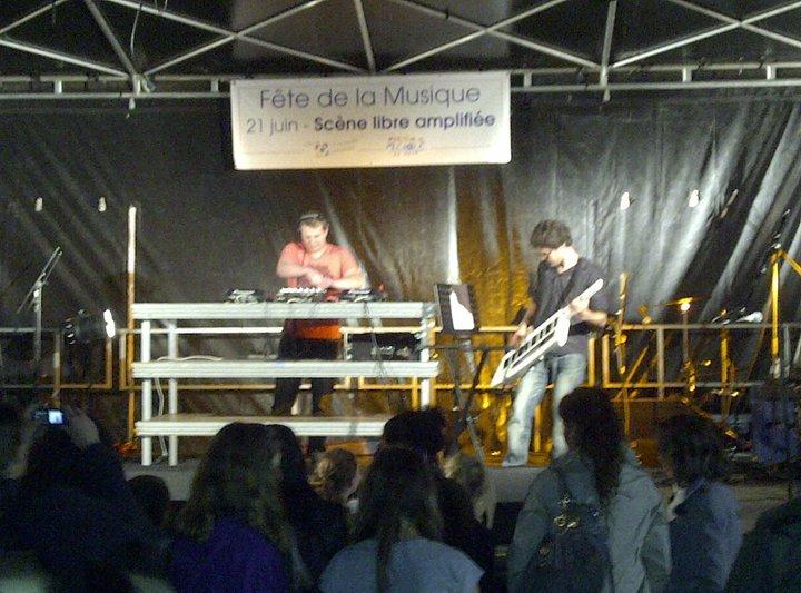 Romain stoffel keytar clavier piano Kevin B. austin & shoes electro
