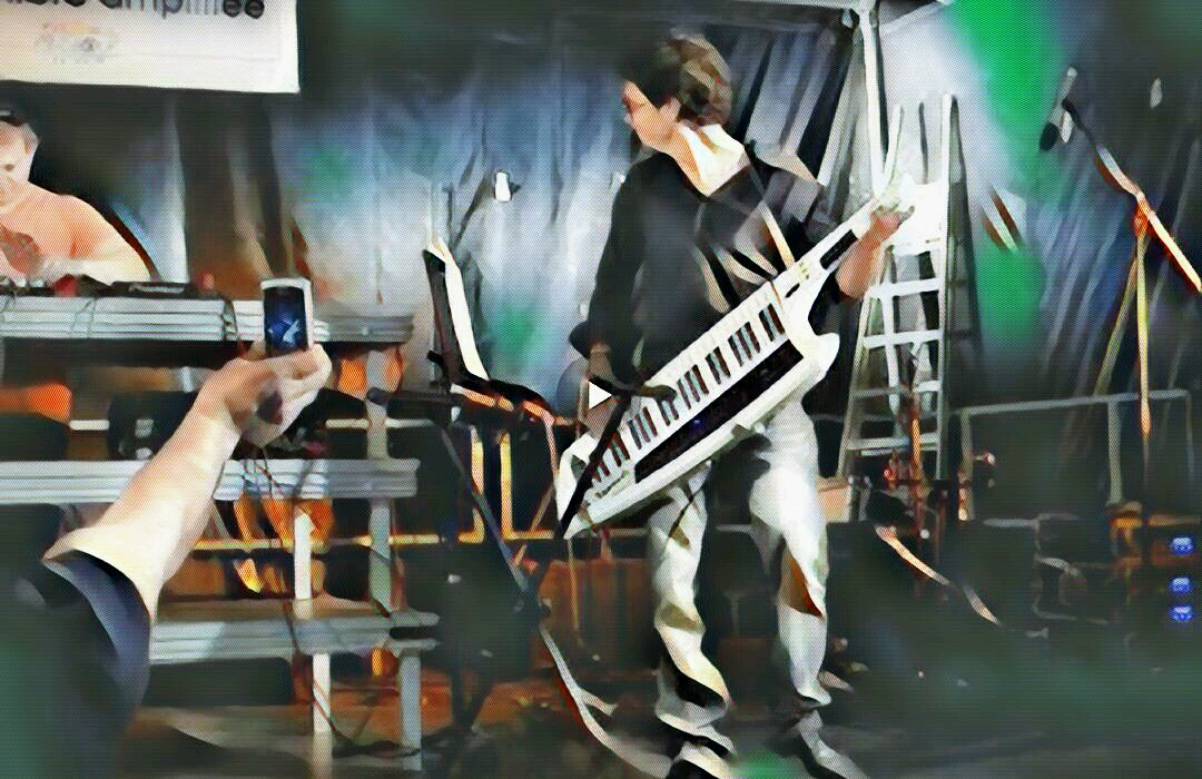 Ax synth keytar Romain stoffel Kevin B.